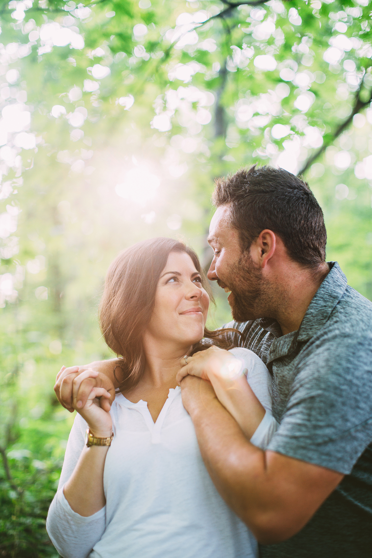 Burlington Engagement Photographer